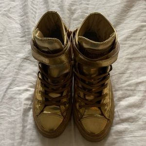 Limited Edition Gold Converse